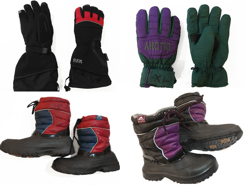 Gloves, Boots